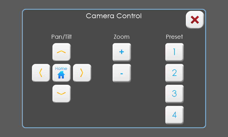 touch panel screenshot