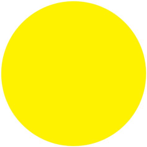 Branding: Yellow color dot