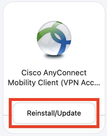 Self Service Cisco VPN install.